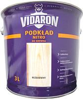 Грунтовка Vidaron Нитро для древесины (3л, бесцветная) -