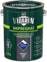 Защитно-декоративный состав Vidaron Impregnant V16 Антрацит (4.5л) -