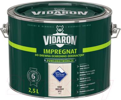 Защитно-декоративный состав Vidaron Impregnant V17 Дуб Беленый (2.5л)