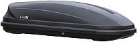Автобокс Lux Flagman 370L 844086 (черный матовый) -