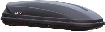 Автобокс Lux Flagman 370L 844086 (черный матовый)