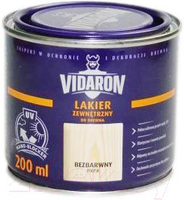 Лак Vidaron Наружный (200мл, бесцветный глянец)