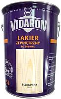 Лак Vidaron Наружный (5л, бесцветный глянец) -