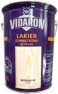 Лак Vidaron Наружный (5л, сатиновый глянец)