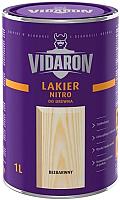 Лак Vidaron Нитро для древесины (1л, бесцветный глянец) -