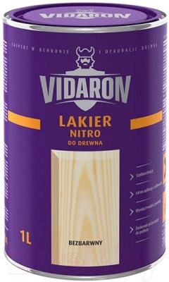 Лак Vidaron Нитро для древесины (1л, бесцветный глянец)