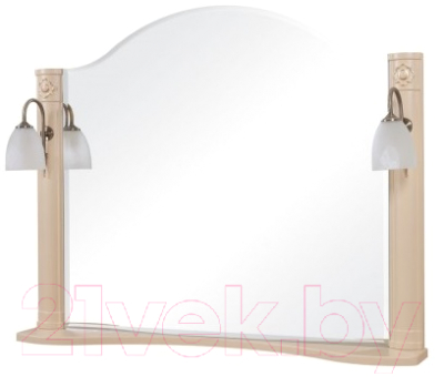 Зеркало для ванной Аква Родос Арт Деко 100 / АР0000185