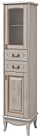 Шкаф-пенал для ванной Аква Родос Микелла R / АР0001266 (ваниль) -