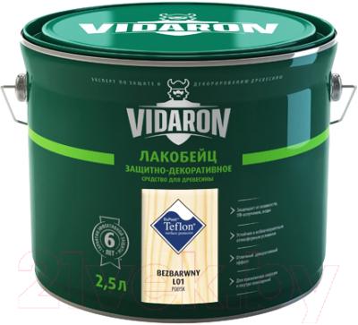 Лакобейц Vidaron L01 Бесцветный (2.5л)