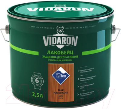 Лакобейц Vidaron L05 Натуральный Тик (2.5л)