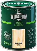 Масло для древесины Vidaron D01 Бесцветное (0.75л) -