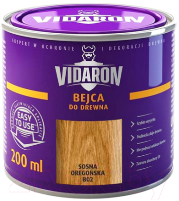 Морилка Vidaron B02 Сосна (200мл)