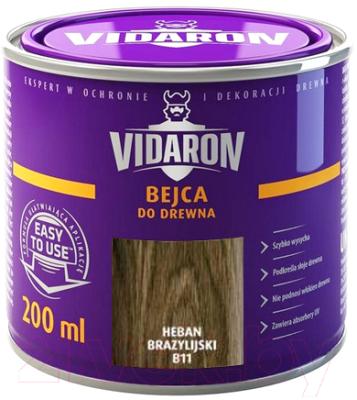 Морилка Vidaron B11 Бразильское Эбеновое Дерево (200мл)