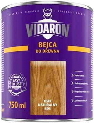 Морилка Vidaron B03 Тик натуральный (750мл)