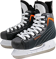 Коньки хоккейные Sundays PW-206G (36, черный/оранжевый) -