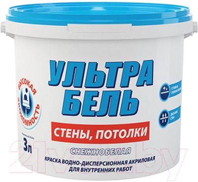 Краска Sniezka Ультра Бель (3л)