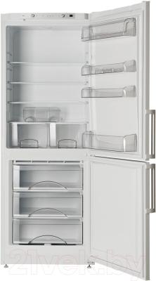 Холодильник с морозильником ATLANT ХМ 6221-100 - с открытой дверью