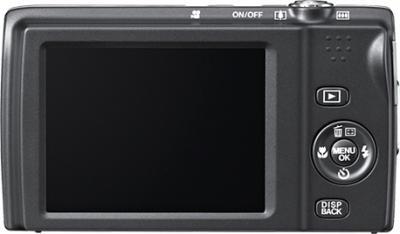 Компактный фотоаппарат Fujifilm FinePix JZ700 Silver - вид сзади