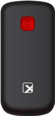 Мобильный телефон Texet TM-B220 (черный/красный)