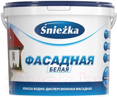 Краска Sniezka Фасадная акриловая (1л)