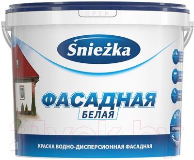 Краска Sniezka Фасадная акриловая (5л)