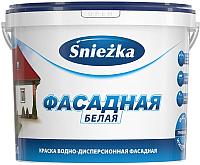 Краска Sniezka Фасадная акриловая (10л) -