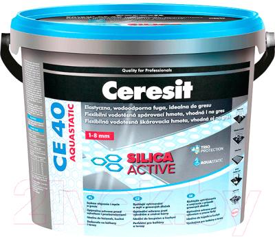 Фуга Ceresit CE 40 Aquastatic (2кг, черный)