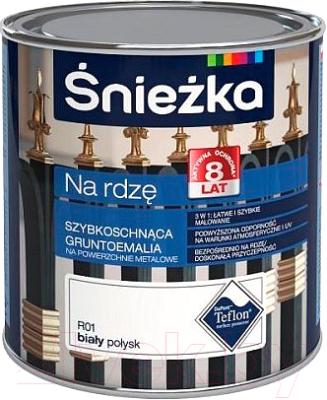 Эмаль Sniezka Na Rdze глянцевая (650мл, коричневый)