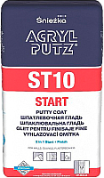 Шпатлевка Sniezka Acryl Putz Start EX ST10 (2.5кг) -