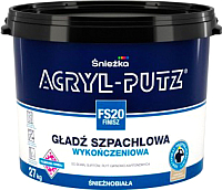 Шпатлевка Sniezka Acryl Putz FS20 Finish (27кг, готовая) -