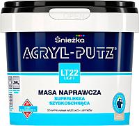 Шпатлевка Sniezka Acryl Putz Light LT22 (0.25л, готовая) -