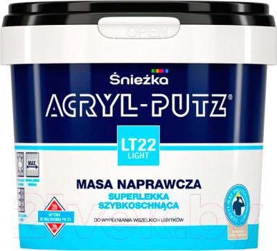 Шпатлевка Sniezka Acryl Putz Light LT22 (0.25л, готовая)