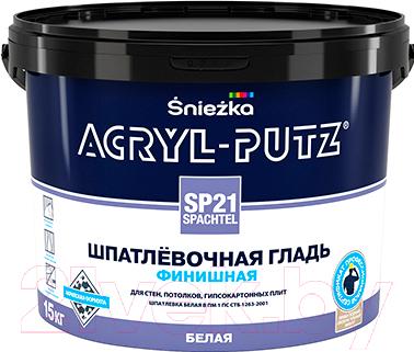 Шпатлевка Sniezka Acryl Putz SP21 Finish (15кг, белый)