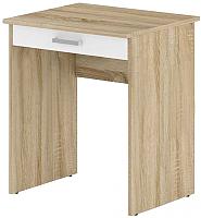 Письменный стол Славянская столица Д-СП2 (дуб сонома/белый) -