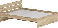 Двуспальная кровать Славянская столица Д-Кр1600 (дуб сонома) -