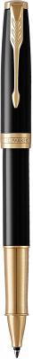 Ручка-роллер Parker Sonnet Black Lacquer GT F 1948080