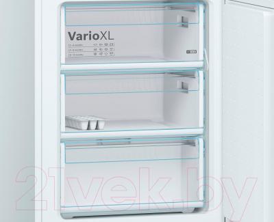 Холодильник с морозильником Bosch KGV36XW23R