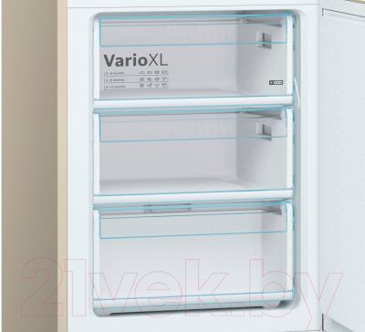 Холодильник с морозильником Bosch KGV39XK2AR