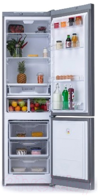 Холодильник с морозильником Indesit DS 4200 SB