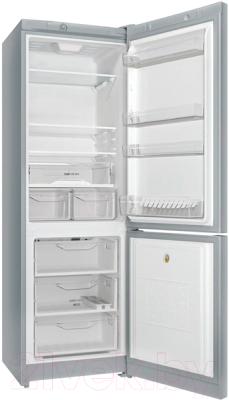 Холодильник с морозильником Indesit DS 4180 SB