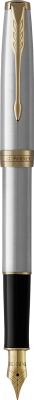 Ручка перьевая имиджевая Parker Sonnet Core Stainless Steel GT 1931504