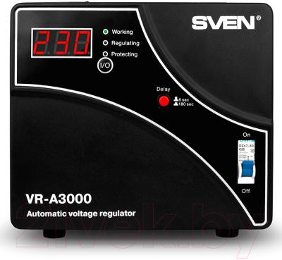 Стабилизатор напряжения Sven VR-A3000