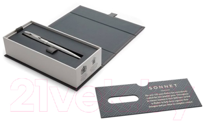 Ручка шариковая Parker Sonnet Core Slim Stainless Steel CT 1931513