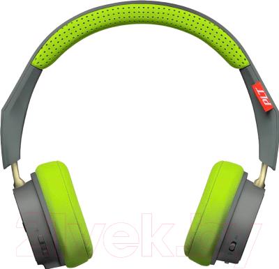 Наушники-гарнитура Plantronics BackBeat 500 / 207850-01 (серый/зеленый)