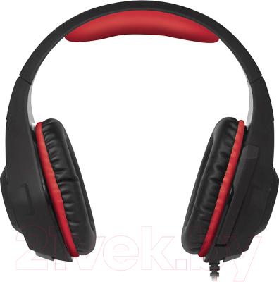 Наушники-гарнитура Sven AP-G886MV (черный/красный)