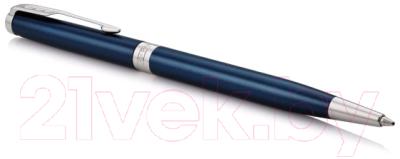 Ручка шариковая Parker Sonnet Core Slim Blue Lacquer CT 1945365