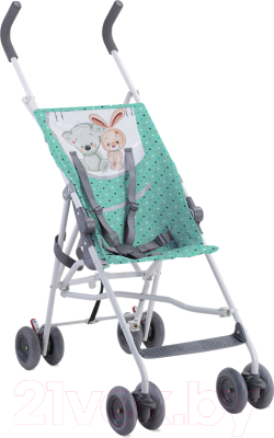 Детская прогулочная коляска Lorelli Flash Green Best Friends (10020431704)