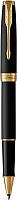 Ручка-роллер имиджевая Parker Sonnet Core Matte Black GT F 1931518 -