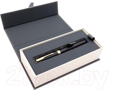 Ручка-роллер Parker Sonnet Core Matte Black GT F 1931518
