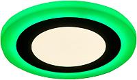 Точечный светильник Truenergy 6+3W 10210 (зеленый) -
